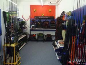 Stecker-Fischen und Stipp-Angeln Abteilung